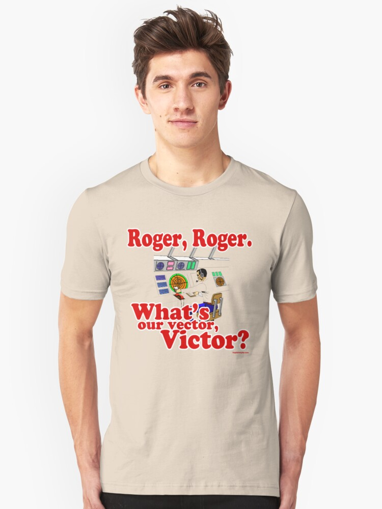 Roger, Roger, What's Your Vector Victor by kaptainmyke