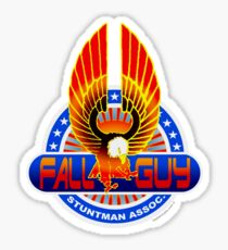 Fall Guy Stuntman Association Sticker