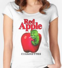 Red Apple Cigarettes Women's Fitted Scoop T-Shirt