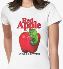 Red Apple Cigarettes Womens Fitted T-Shirt