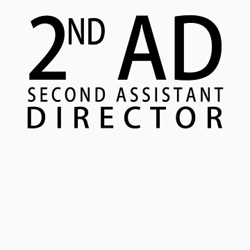 SECOND ASSISTANT DIRECTOR - Black by WarnerStudio