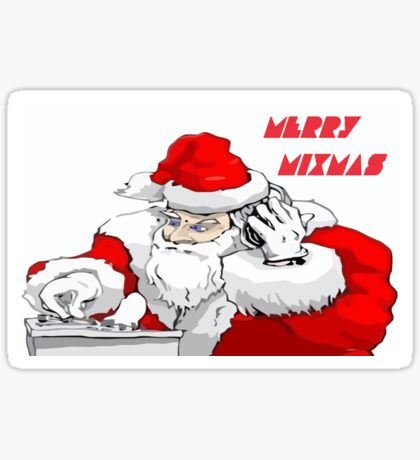 Merry Mixmas Sticker