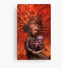 The Guardian and the Bone Dagger Canvas Print