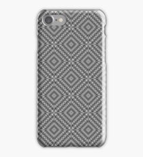 Silver Square Tiled iPhone Case/Skin