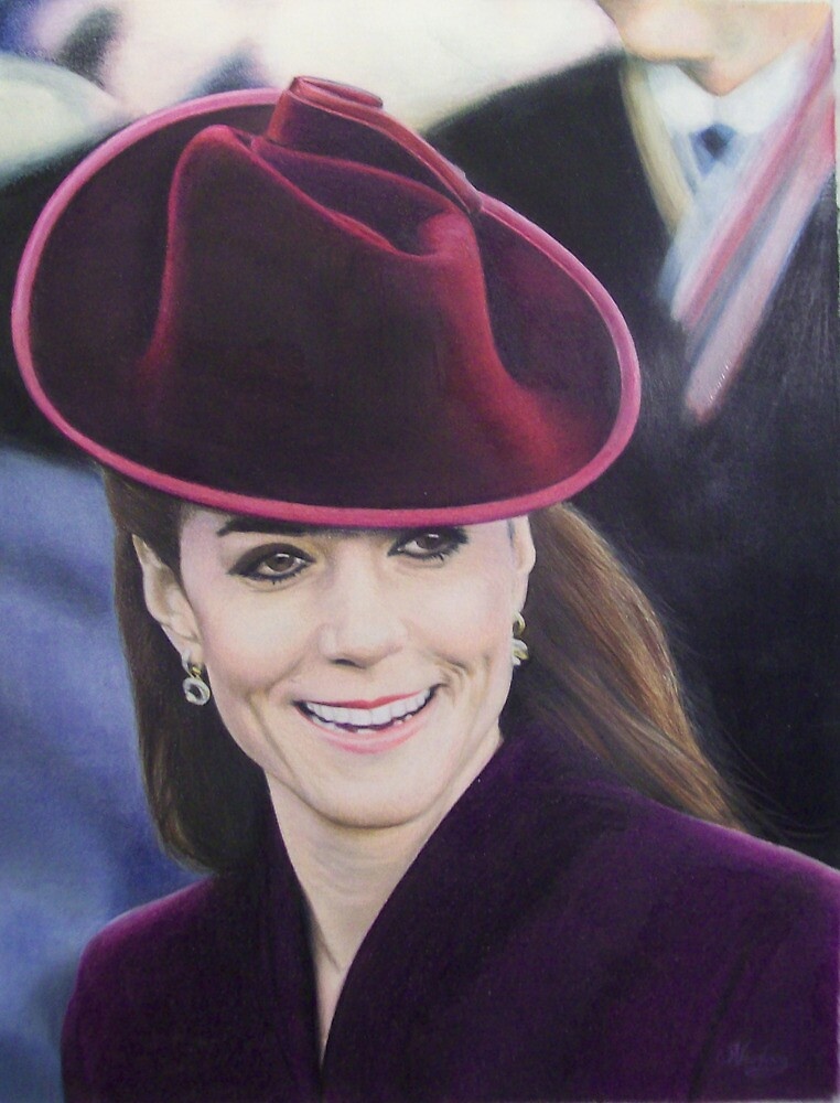 The Duchess of Cambridge, 2011 by Samantha Norbury