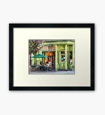 Empire Coffee and Tea Framed Print