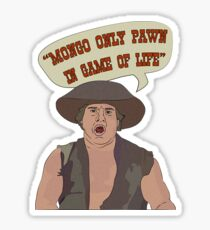 MONGO ONLY PAWN Sticker