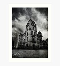 Haunted 2 Art Print