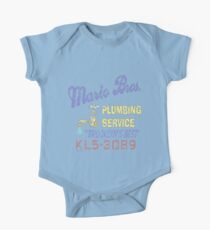 Mario Brothers Plumbing Kids Clothes