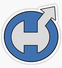 Captain Hero Sticker