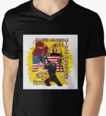 James Madison - Ninja Warrior! t-shirt Men's V-Neck T-Shirt
