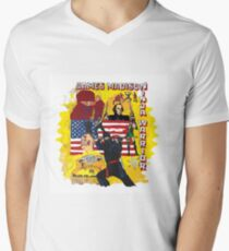 James Madison - Ninja Warrior! t-shirt Men's V-Neck T-Shirt