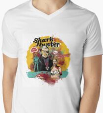 Thomas Jefferson - Shark Hunter! t-shirt Men's V-Neck T-Shirt