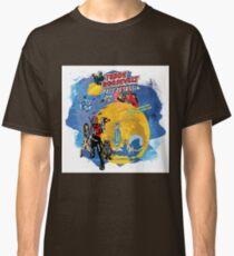 Teddy Roosevelt - Space Assassin! t-shirt Classic T-Shirt