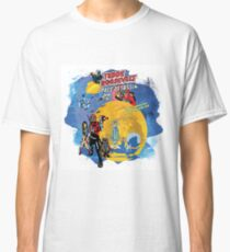 Teddy Roosevelt - Space Assassin! t-shirt Classic T-Shirt