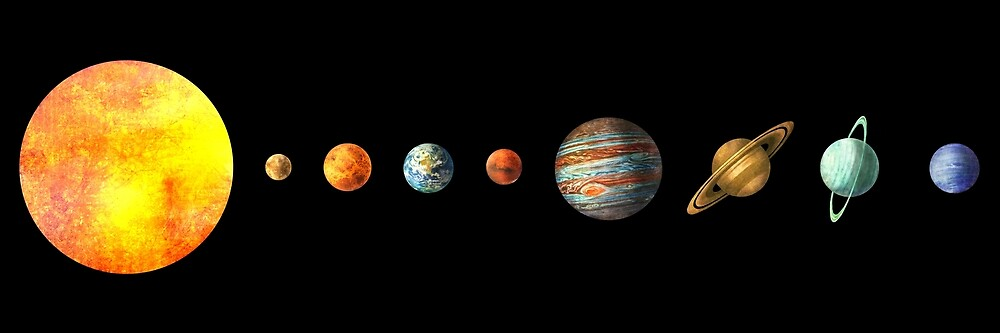 """""""The Solar System"""" by Terry Fan 