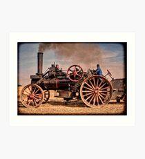 Locomobile Art Print