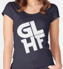 GLHF Women's Fitted Scoop T-Shirt