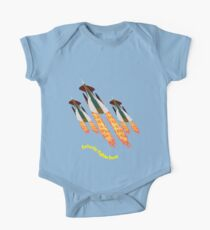 A Galactic Fighter Force on Patrol T-shirt design Kids Clothes