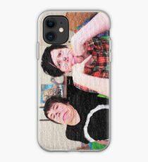 Strukturierter Phan iPhone-Hülle & Cover