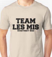 Team Les Mis Unisex T-Shirt