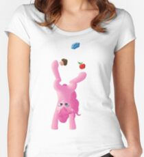 Juggling Pinkie Pie Women's Fitted Scoop T-Shirt