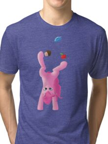 Juggling Pinkie Pie Tri-blend T-Shirt