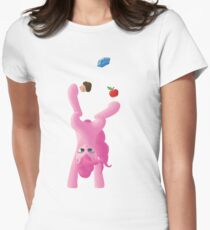 Juggling Pinkie Pie Women's Fitted T-Shirt