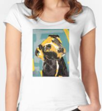 Dog Boris Women's Fitted Scoop T-Shirt