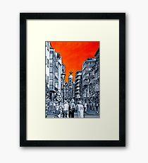 Splash Cities - Valladolid 01 Framed Print