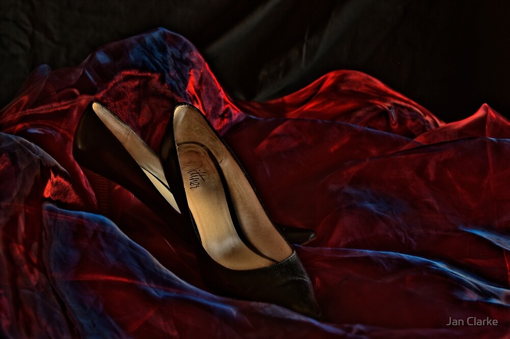 Heels HDR by Jan Clarke