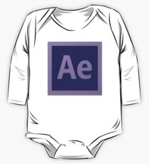 After Effect  CS6 Logo One Piece - Long Sleeve