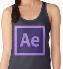 After Effect  CS6 Logo Women's Tank Top