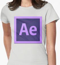 After Effect  CS6 Logo Womens Fitted T-Shirt
