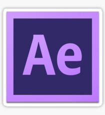 After Effect  CS6 Logo Sticker