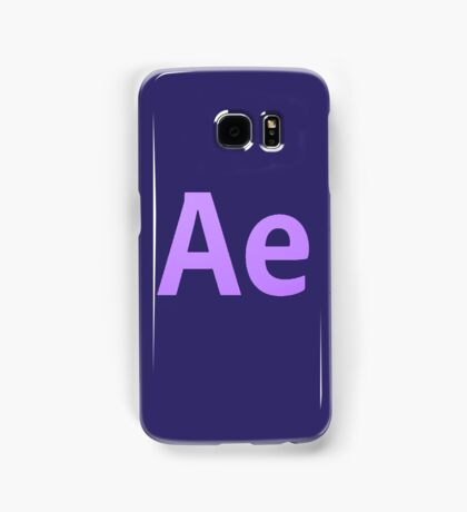 After Effects CS6 Letters Samsung Galaxy Case/Skin