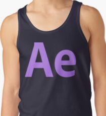 After Effects CS6 Letters Tank Top