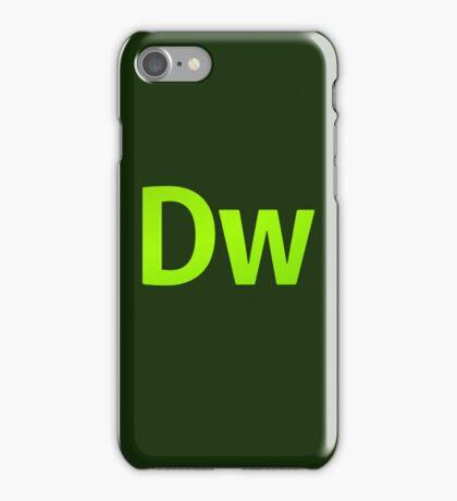 DreamWeaver CS6 Letters iPhone Case/Skin