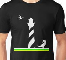 Lighthouses & Dinosaurs Unisex T-Shirt
