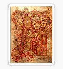 Page from the Book of Kells Sticker