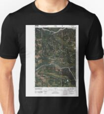 USGS Topo Map Washington State WA Golden Lakes 20110506 TM T-Shirt