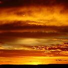Sunset in the Mara by Karue