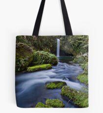 Omanawa falls drift Tote Bag