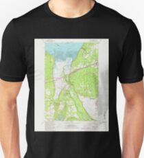 USGS Topo Map Washington State WA Nisqually 242839 1959 24000 T-Shirt