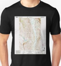 USGS Topo Map Washington State WA Ellisforde 241029 2001 24000 T-Shirt