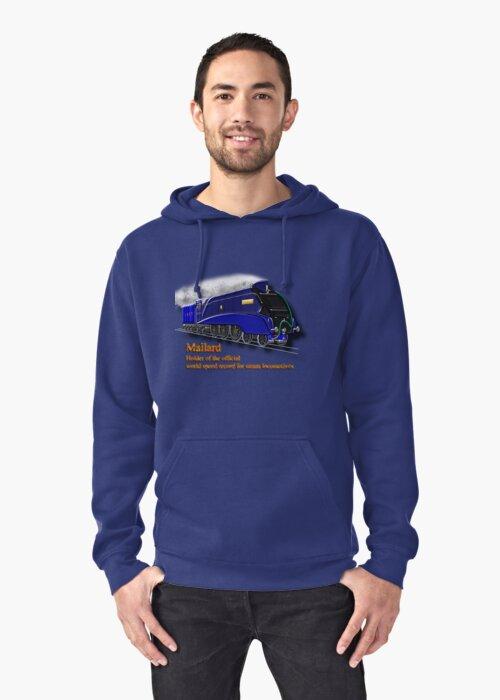 Mallard the Fastest Steam Locomotive  by Dennis Melling