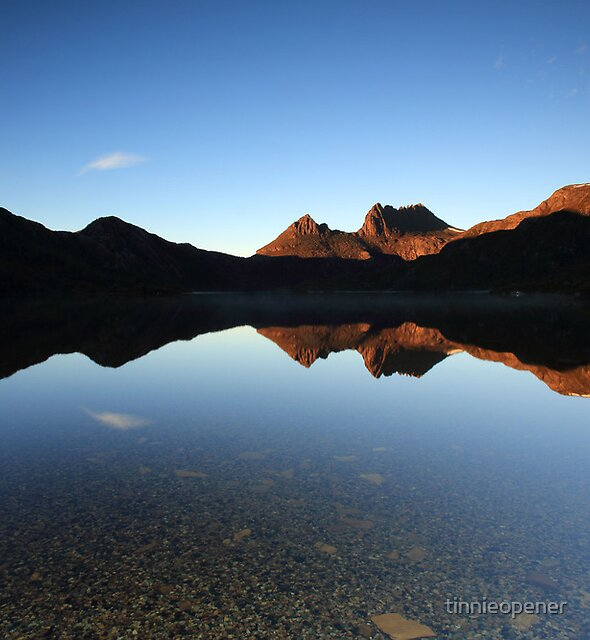 Lake Dove Reflections by tinnieopener