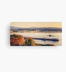 Sunrise over Douglas Bay Canvas Print