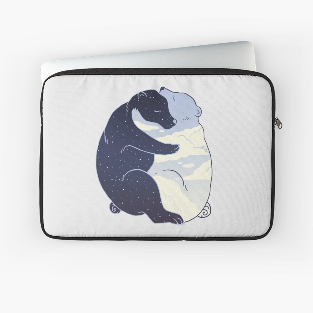 Day and Night Laptop Sleeve