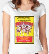 SUPER NINJAS! Women's Fitted Scoop T-Shirt